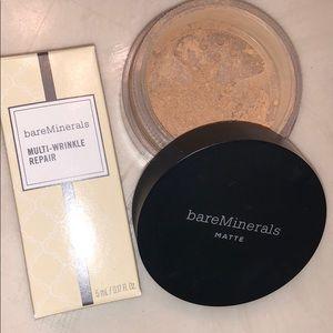 bareMinerals matte foundation tan nude 17